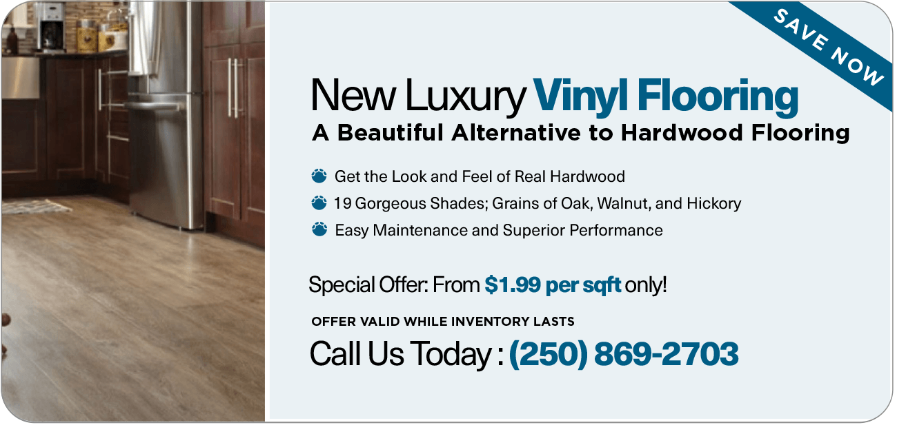 luxury vinyl flooring special