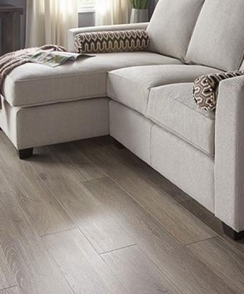 Smoked-Oak Laminate Flooring
